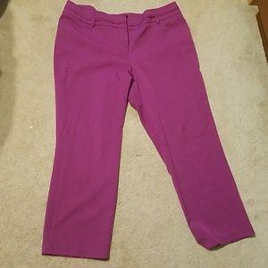 Apt 9 cropped dress pants
